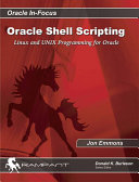 Oracle Shell Scripting