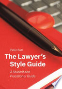 The Lawyer   s Style Guide