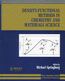 Density Functional Methods In Chemistry And Materials Science Book PDF