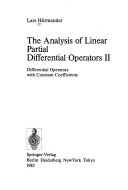 The analysis of linear partial differential operators