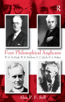 Pdf Four Philosophical Anglicans