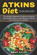 Atkins Diet Plan 2019 2020