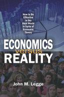 Economics versus Reality Pdf/ePub eBook