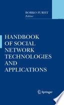 Handbook of Social Network Technologies and Applications Book