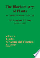 Lipids: Structure and Function