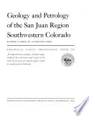 Geological Survey Professional Paper Book