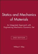 Statics And Mechanics Of Materials Book PDF