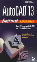 AutoCAD 13 Instant Reference