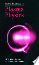 Introduction To Plasma Physics Book PDF