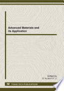 Advanced Materials and its Application