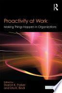 Proactivity At Work