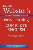 Collins Webster's Easy Learning Complete English