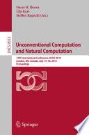 Unconventional Computation And Natural Computation Book PDF