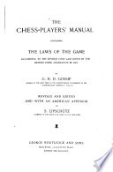 The Chess players  Manual