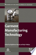 Garment Manufacturing Technology Book