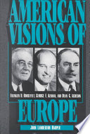 American Visions Of Europe Book