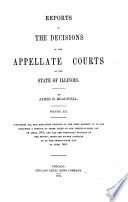 Reports of the Decisions of the Appellate Courts of the State of Illinois Book