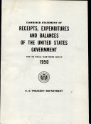 Combined Statement of Receipts  Expenditures and Balances of the United States Government