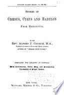 Stories of Croesus  Cyrus and Babylon from Herodotus Book