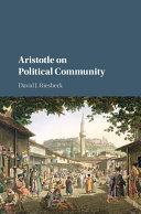 Aristotle on Political Community