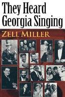 They Heard Georgia Singing [Pdf/ePub] eBook