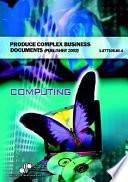 Produce Complex Business Documents Publisher 2002