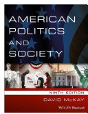 American Politics and Society