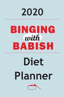 2020 Binging With Babish Diet Planner