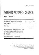 Bulletin   Welding Research Council