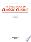 The Great Book of Classic Cuisine