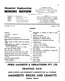 Chemical Engineering and Mining Review Book