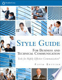 FranklinCovey Style Guide Book