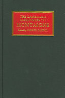 The Cambridge Companion to Montaigne
