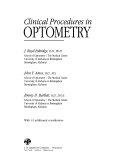 Clinical Procedures in Optometry