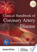 Clinical Handbook of Coronary Artery Disease Book
