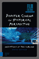 Book cover for Disaster cinema in historical perspective : mediations of the sublime
