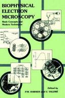 Biophysical Electron Microscopy Book
