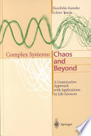Complex Systems Chaos And Beyond Book PDF