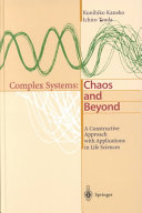 Complex Systems  Chaos and Beyond
