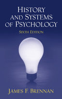 History and Systems of Psychology