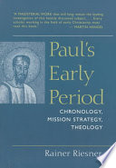 Paul s Early Period