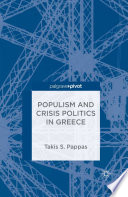 Populism And Crisis Politics In Greece Book PDF