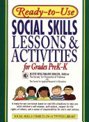 Ready To Use Social Skills Lessons And Activities For Grades PreK K  1995 Edition  Layflat Version