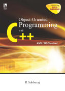 Object Oriented Programming with C   ANSI  ISO Standard