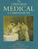 The Oxford Medical Companion Book