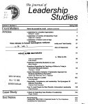 The Journal of Leadership Studies