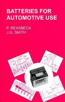Batteries for Automotive Use Book