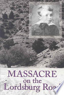 Massacre On The Lordsburg Road Book