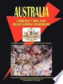Australia Company Laws and Regulations Handbook
