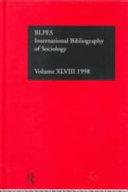 Ibss  Sociology  1998